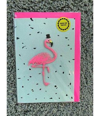 Petra Boase Petra Boase : Wenskaart Flamingo