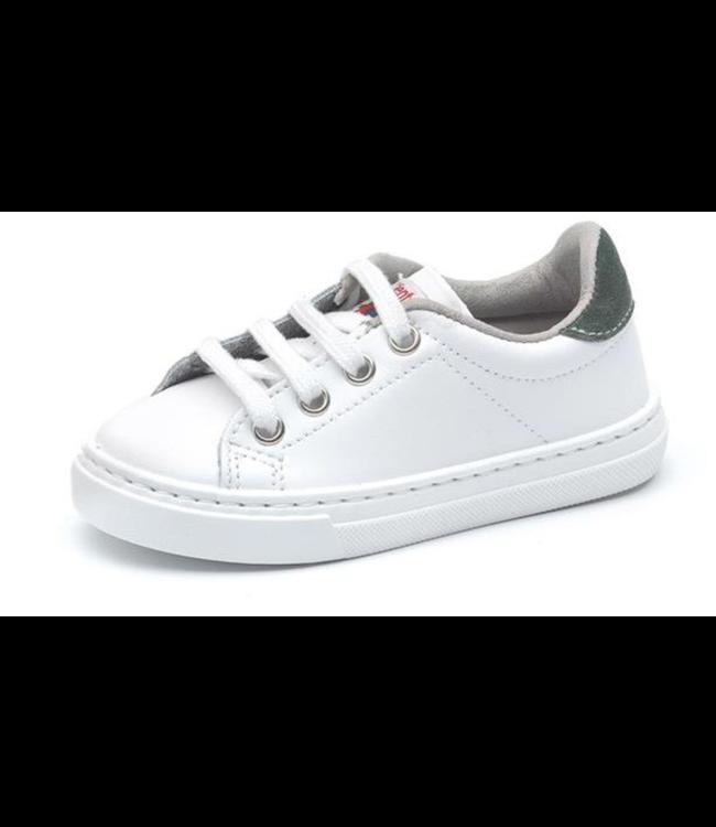 Cienta Cienta : Witte sneaker met veters