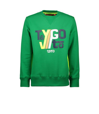 Tygo & Vito Tygo & Vito :  Sweater Tygo & Vito 1973 (groen)