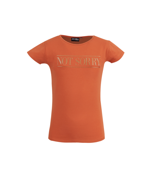 Someone Someone : T-shirt Femme (Burnt orange)