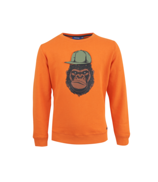 Someone Someone : Sweater Kong (Dark orange)