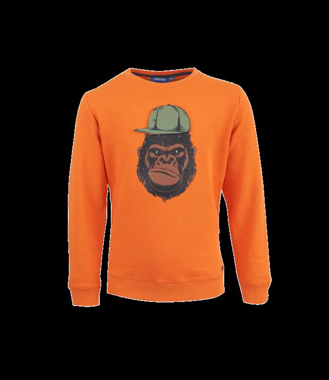 Someone Someone : Sweater Kong (Dark orange)