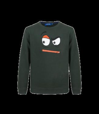 Someone Someone : Sweater Matteo (Dark green)