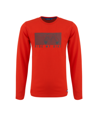 Someone Someone : Longsleeve Illusion (Red)