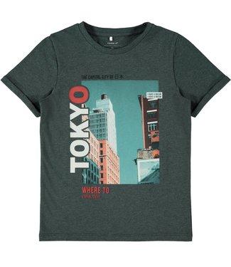 Name it Name it : T-shirt Karlo (Darkest spruce)