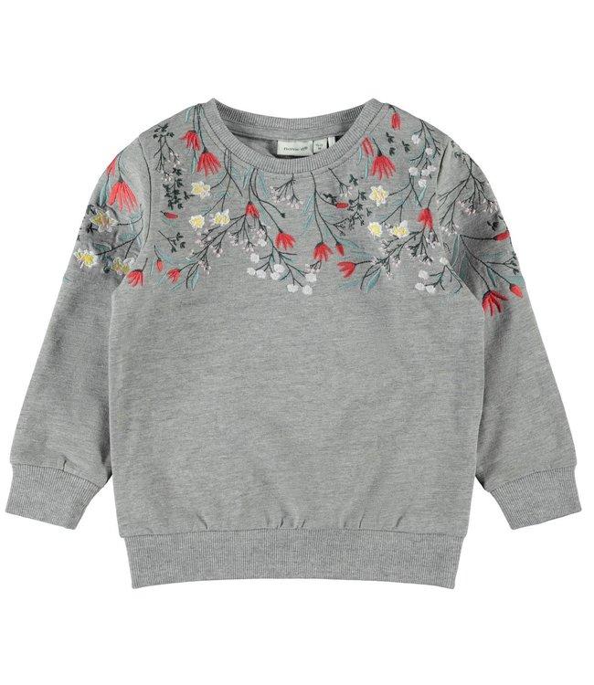 Name it Name it : Sweater Kalla (Grey melange)