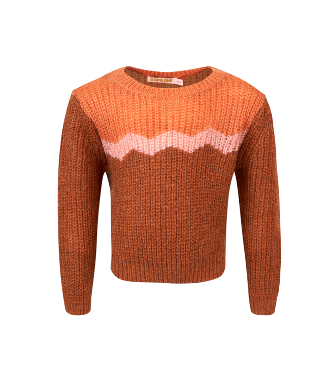 Someone Someone : Knit Lucille (Cognac)