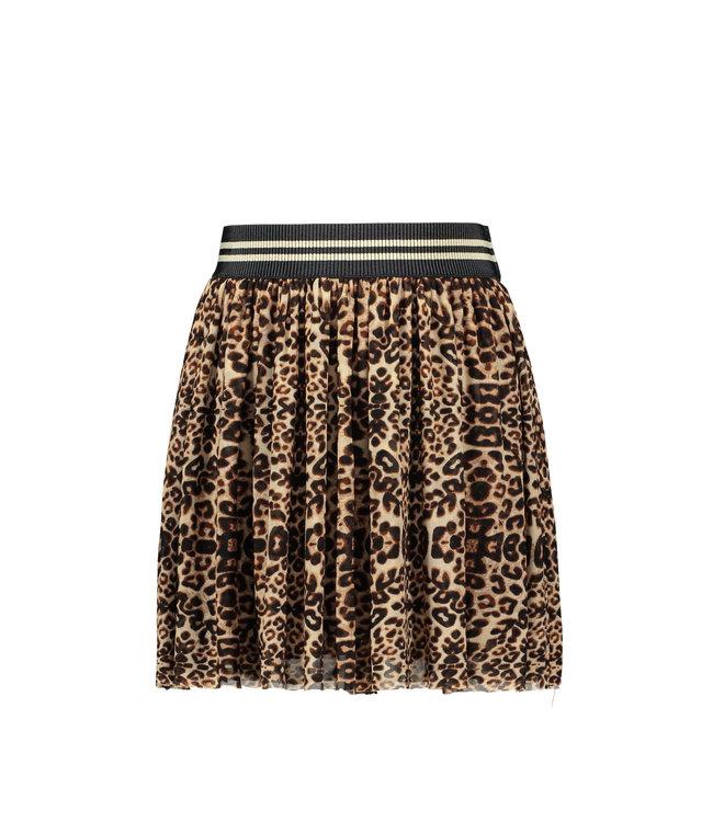 Like Flo Like Flo : Tulle rok in luipaardprint