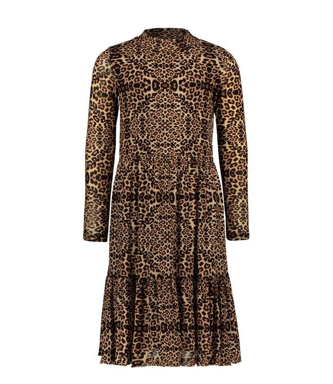 Like Flo Like Flo : Lang kleed in luipaardprint