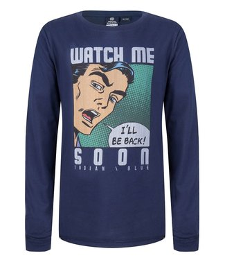 Indian Blue Jeans Indian Blue Jeans : Longsleeve Watch me