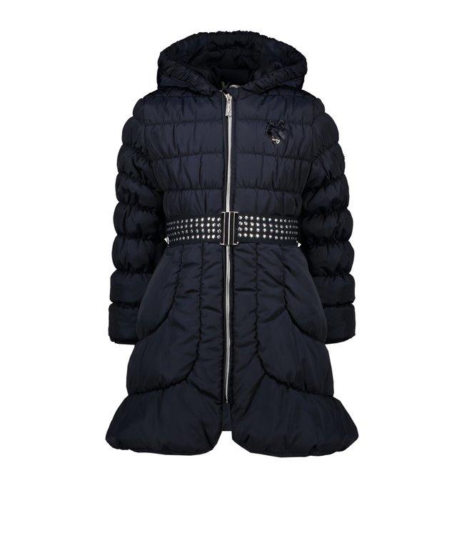 Le chic Le chic : Lange blauwe jas