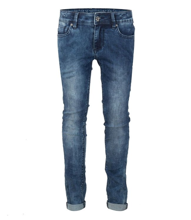 Indian Blue Jeans Indian Blue Jeans : Skinny Jeans Andy (Dark denim)