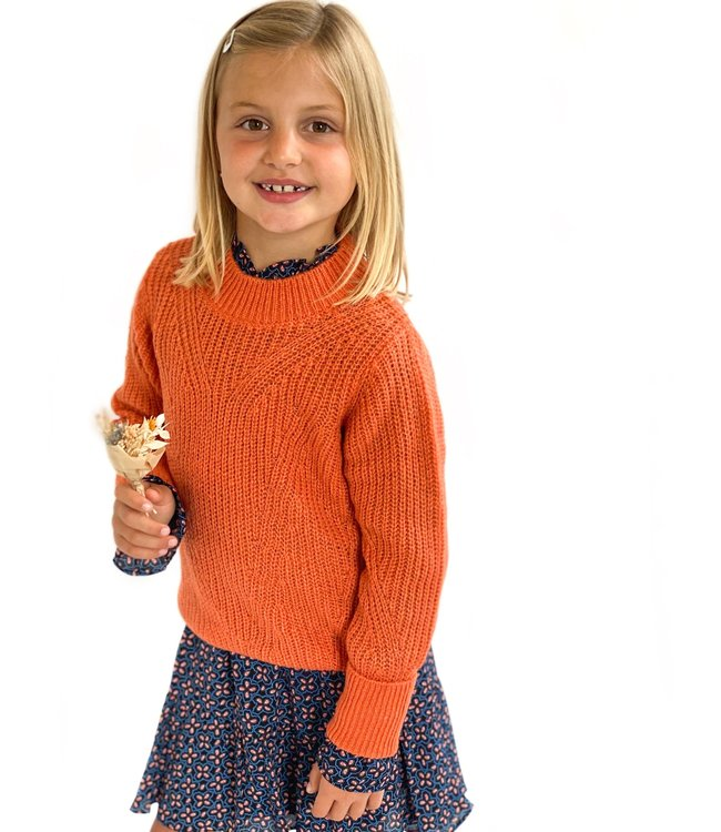 Someone Someone : Knit Femme (Burnt orange)