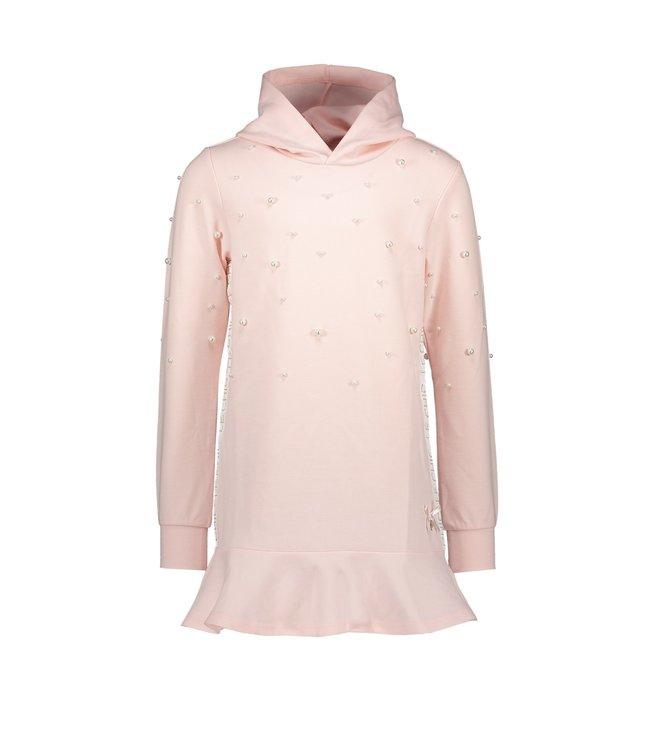 Le chic Le chic : Roze jurk met kap
