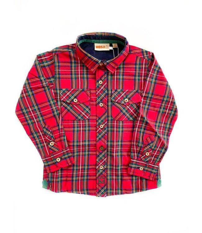 UBS.2 UBS.2 : Rood geruit hemd