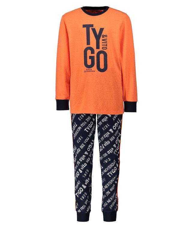 Tygo & Vito Tygo & Vito : Pyjama Tygo (Orange)