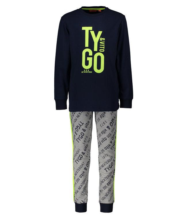 Tygo & Vito Tygo & Vito : Pyjama Tygo (Navy)