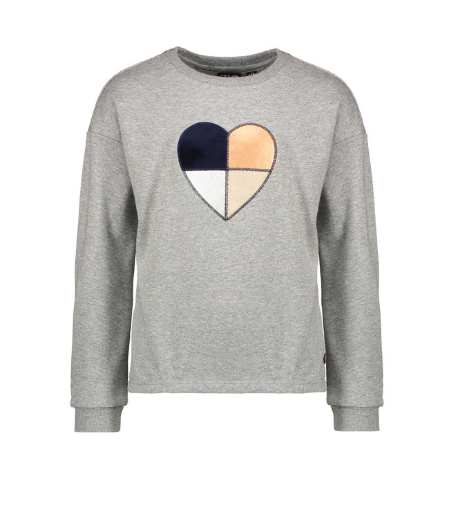 Like Flo Like Flo : Grijze sweater