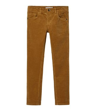 Name it Name it : Velours broek Robin (Cognac)