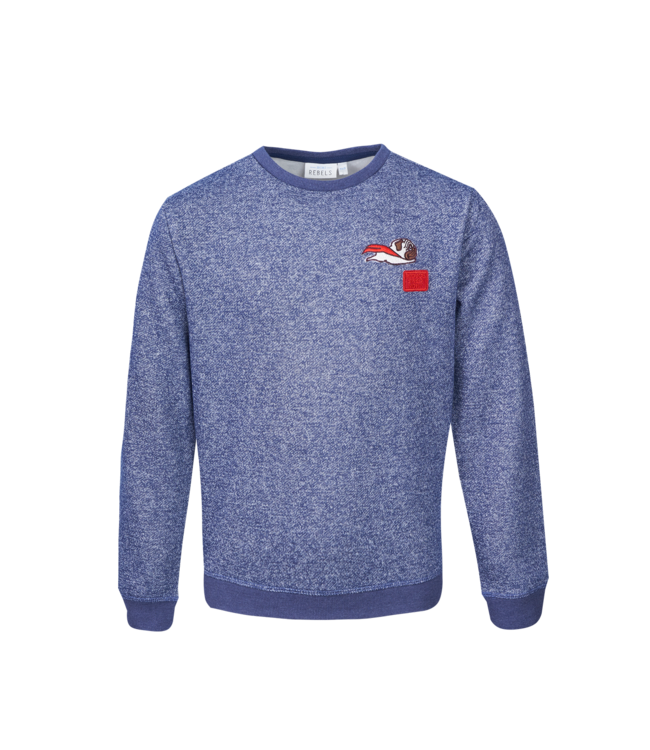 Mini Rebels Mini Rebels : Sweater Nox (Dark blue melange)
