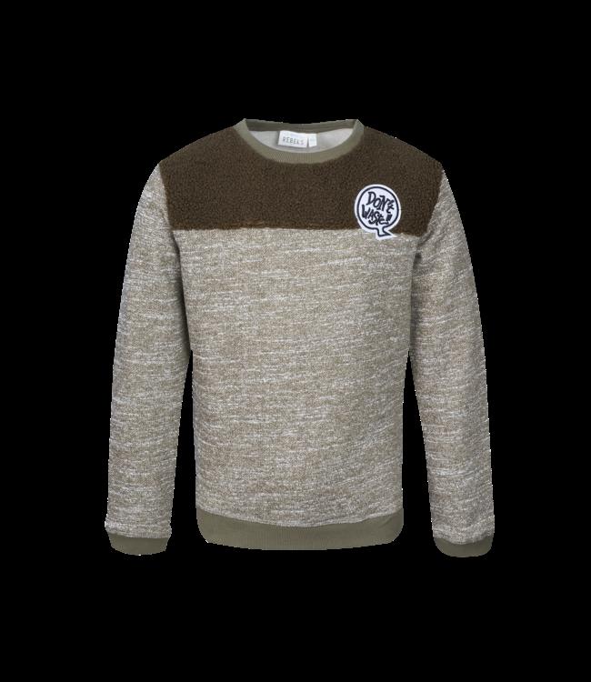 Mini Rebels Mini Rebels : Sweater Nox (Khaki)
