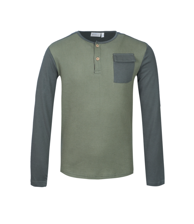 Mini Rebels Mini Rebels : Longsleeve Nox (Khaki)