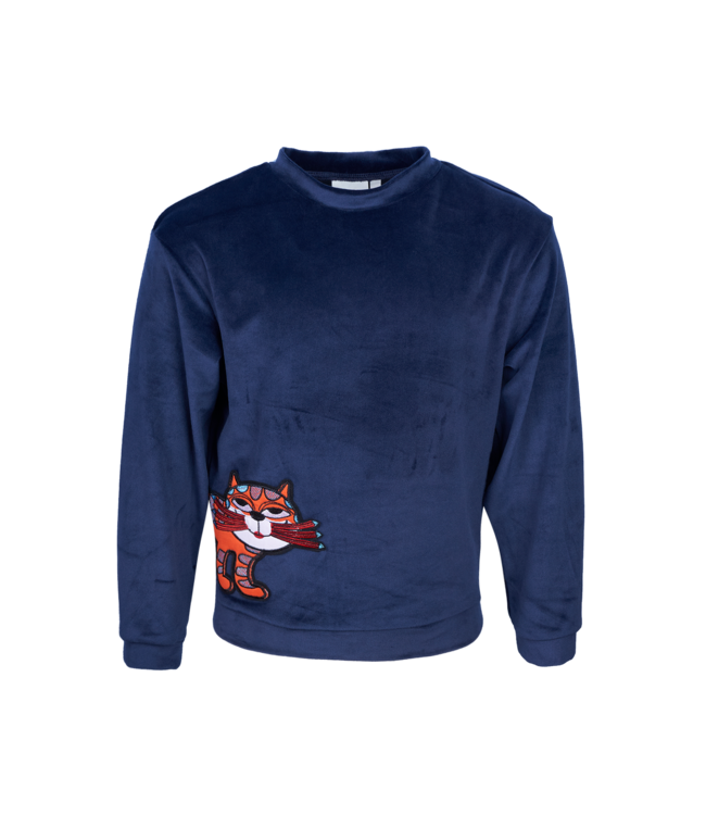 Mini Rebels Mini Rebels : Fleece sweater Roxy (Navy)