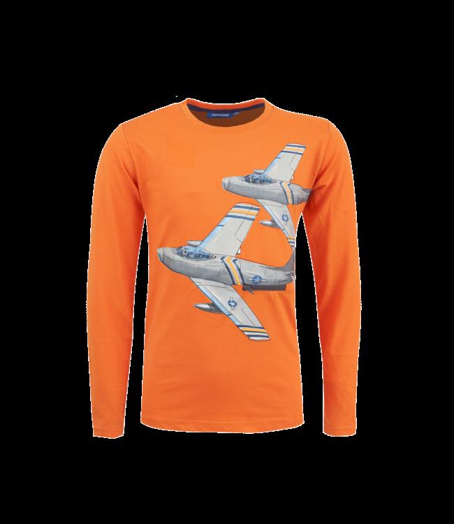 Someone Someone : Longsleeve Jet (Orange)
