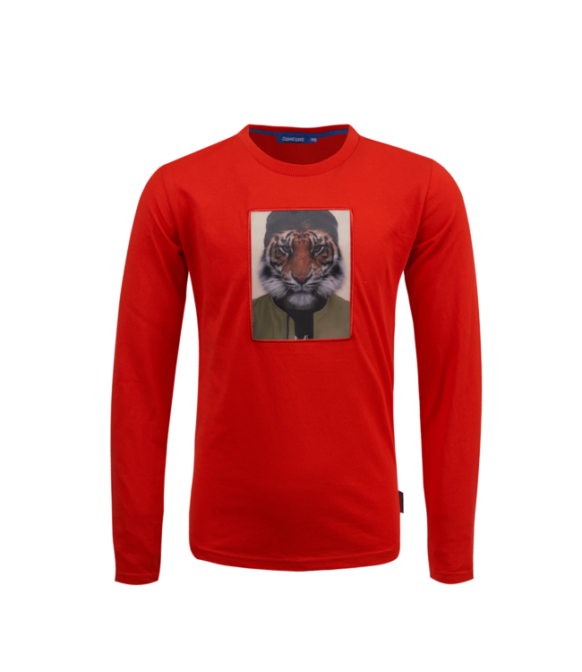 Someone Someone : Longsleeve Raw (Red)