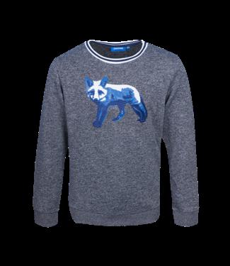 Someone Someone : Sweater Renard (Navy melange)