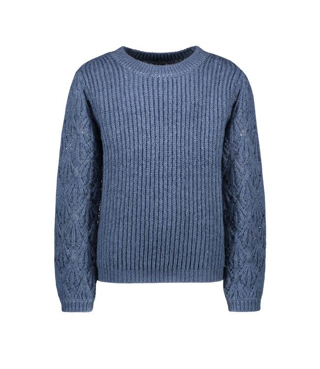 Like Flo Like Flo : Blauwe knit