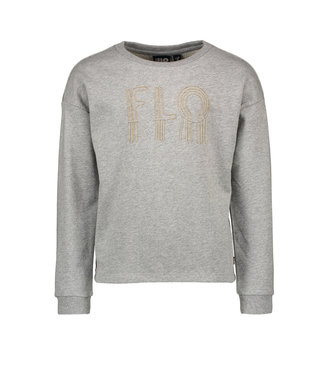 Like Flo Like Flo : Grijze sweater met parels