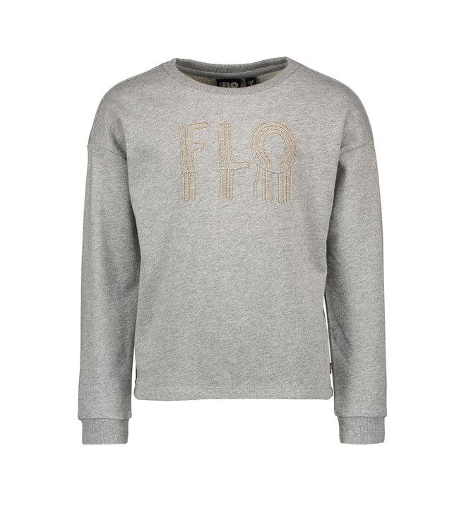 Like Flo Like Flo : Grijze sweater met parels
