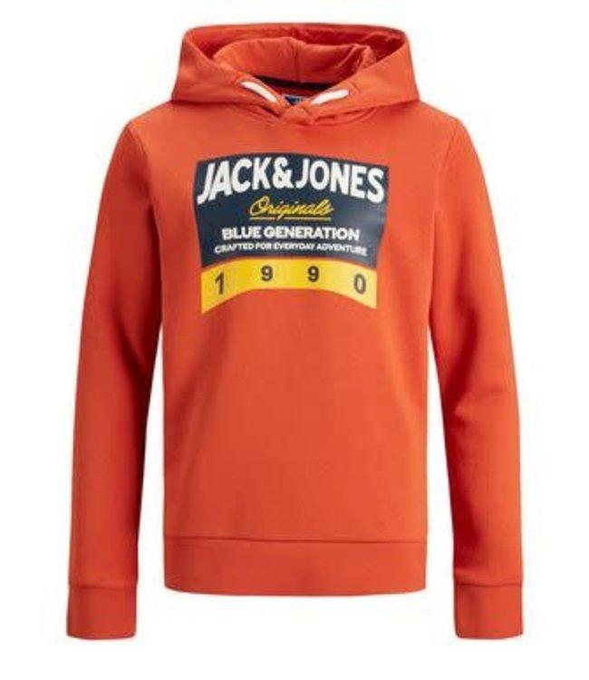 Jack & Jones Jack & Jones : Hoodie Tonni (Orange)