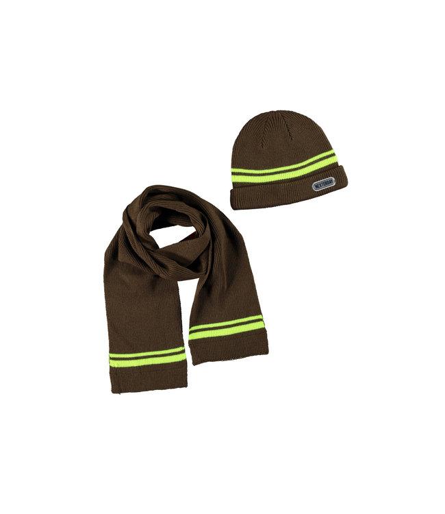 Tygo & Vito Tygo & Vito : Khaki muts en sjaal