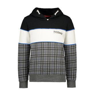 Tygo & Vito Tygo & Vito : Geruite hoodie