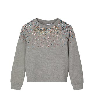 Name it Name it : Sweater Naimma (Grey melange)