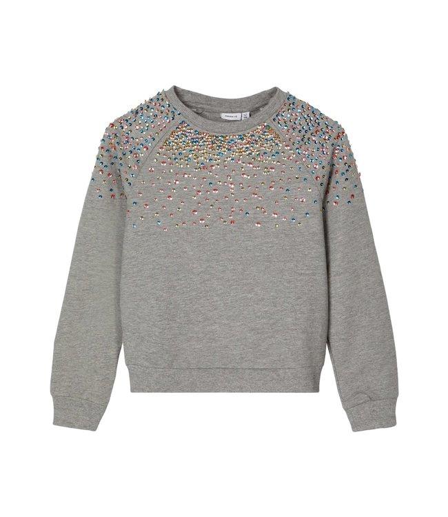 Name it Name it : Sweater Naimma (Grey melange)
