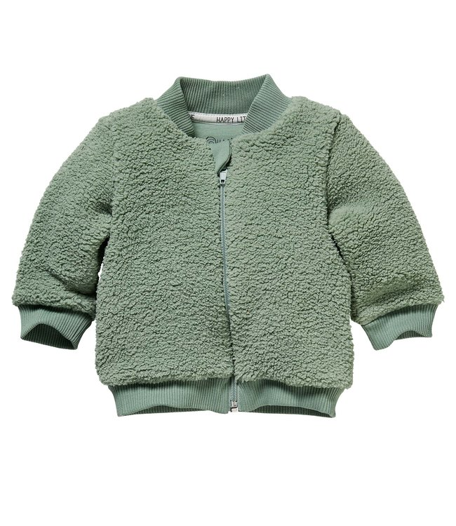 Quapi Quapi : Warm vest Zeb (Dusty green)