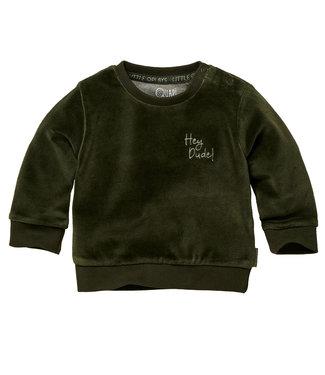 Quapi Quapi : Zachte sweater Zane (Forest green)
