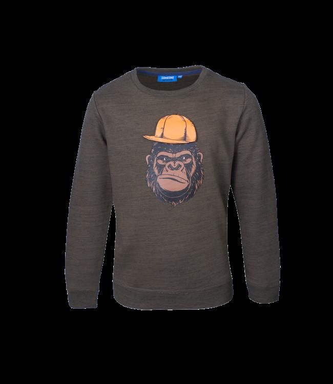 Someone Someone : Sweater Kong (Khaki)