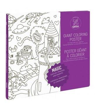 OMY OMY : Kleurposter - MAGIC