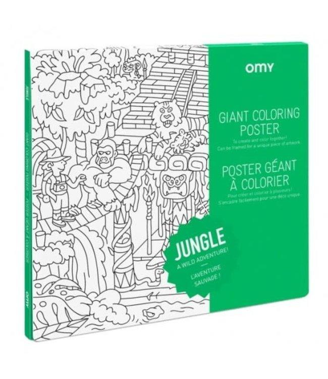 OMY OMY : Kleurposter - JUNGLE