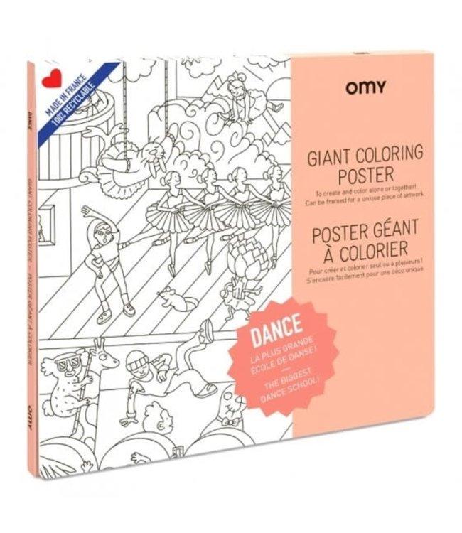 OMY OMY : Kleurposter - DANCE