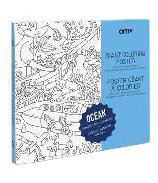 OMY OMY : Kleurposter - OCEAN