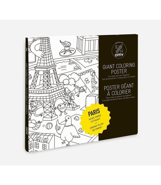 OMY OMY : Kleurposter - PARIS