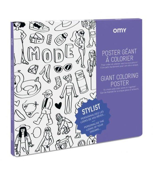 OMY OMY : Kleurposter - STYLIST