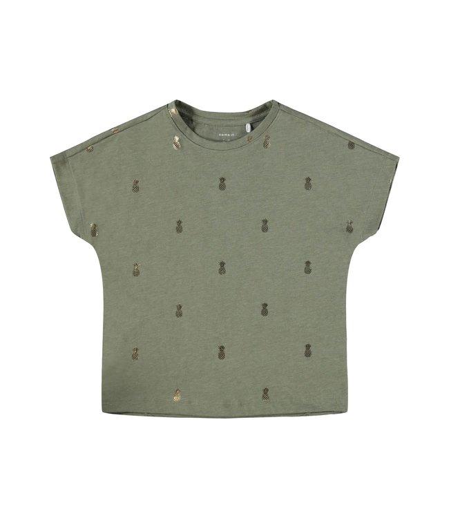 Name it Name it : T-shirt Tykki (Green)