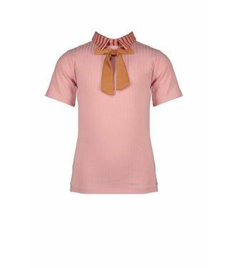 Nono Nono : Roze T-shirt met kraagje