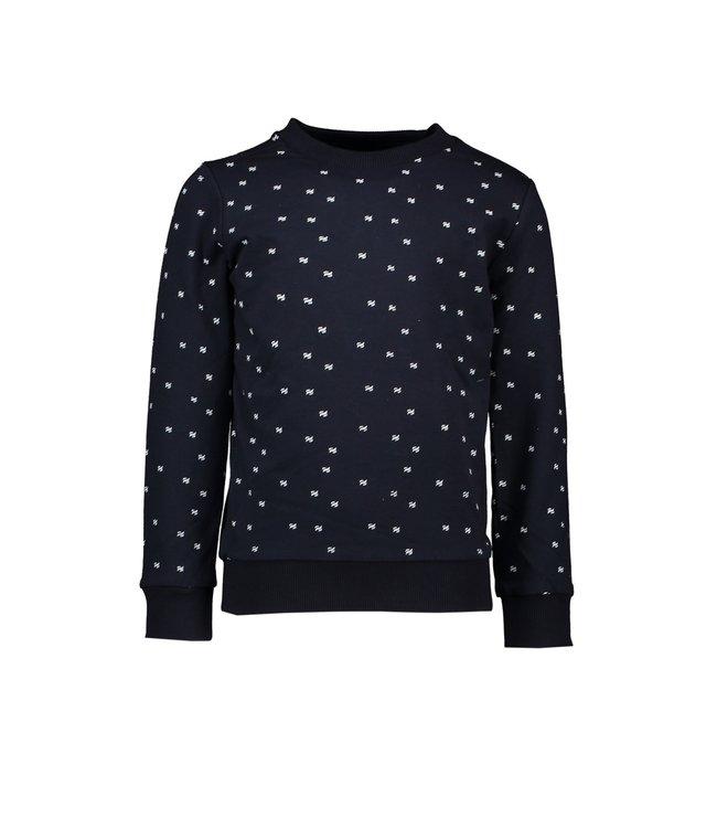 Le chic garçon Le chic garçon : Blauwe sweater
